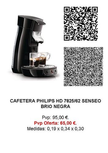 Etiqueta identificación cafetera