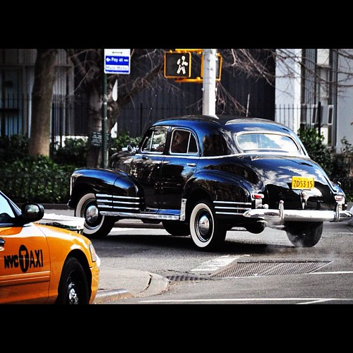 #nyc #newyork #Taxi & #ClassicCar #YellowCab #Cab #Travel #TheVillage #GreenwichVillage by Gribers