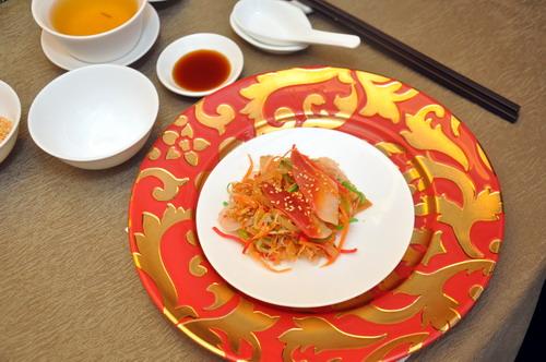 Yee Sang plate