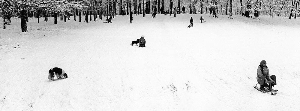 Зима в парке Горького / Winter in Gorky park (3)