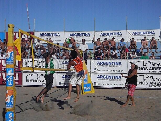 Arrancó el Circuito Argentino de Beach Volley