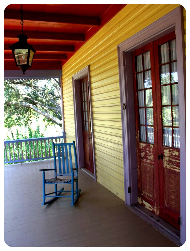 laura plantation porch