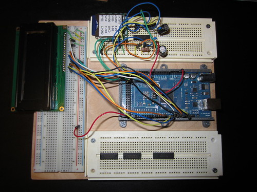 Old breadboard setup