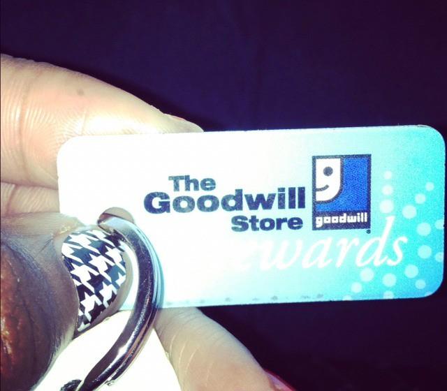 Goodwill Rewards Card