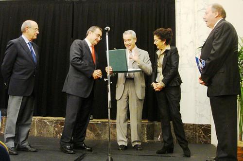 Antoni Quintana recibe el Premio Español de Mantenimiento 2011
