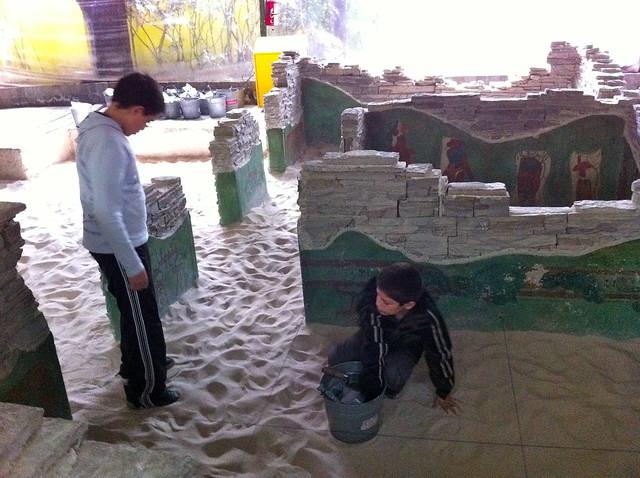 Jugando a ser Arqueólogos