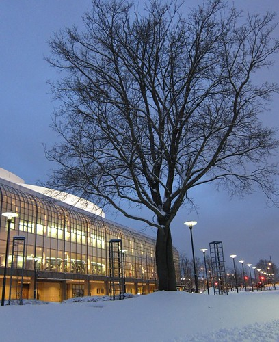 Finnish National Opera in winter