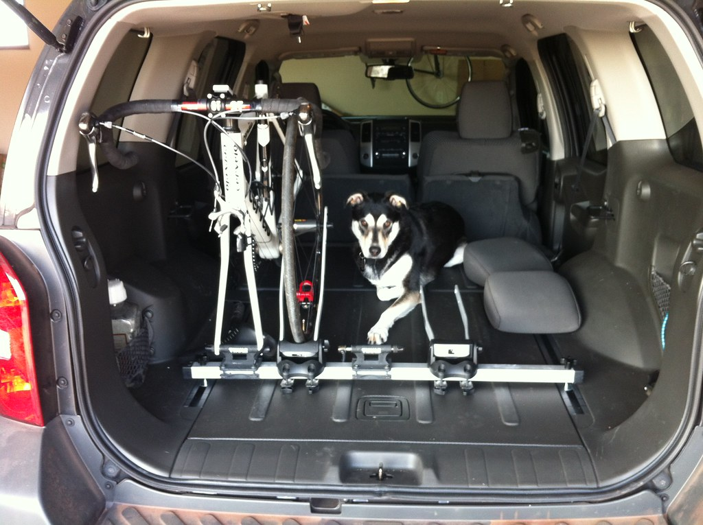 Is interior bike carrier discontinued page 4 second generation nissan xterra forums 2005 Nissan xterra bike rack interior