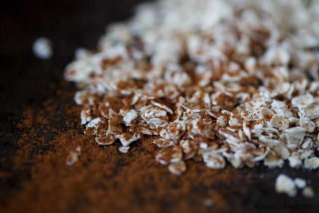 oats and cinnamon