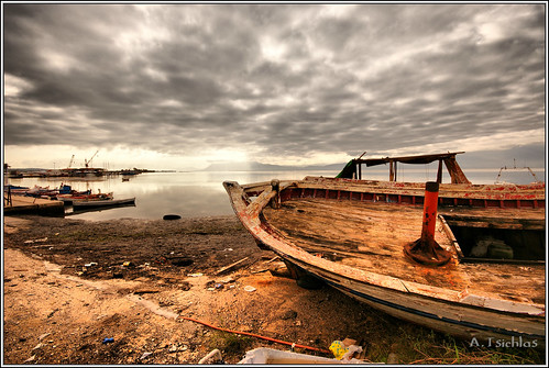 The old boat  (Hdr)  #on explore 19 Jan 2012  N.164# by ATSICHLAS (Busy)