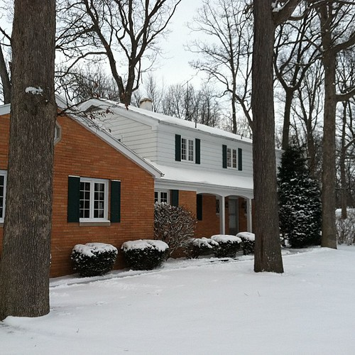 New House...with snow!