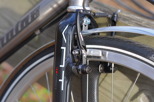 Van Nicholas Amazon, Carbon Fiber Fork with Canti Mounts