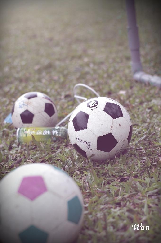 那些年~我們一起踢的球