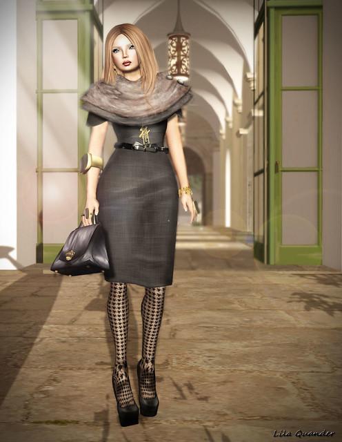 LG femme_Klara dress - Jet