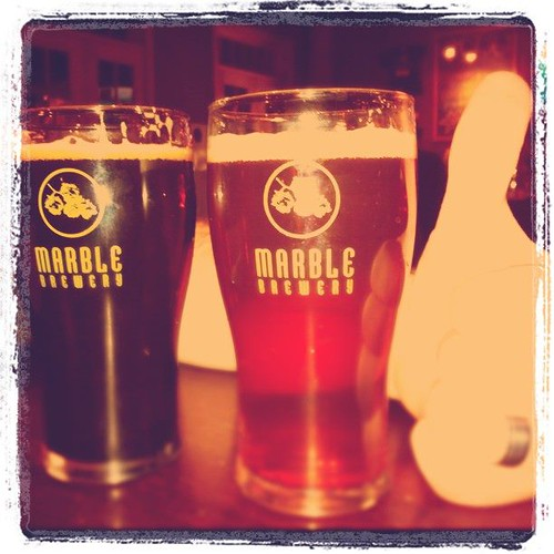Hefe And Oatmeal Stout at Marble Brewery