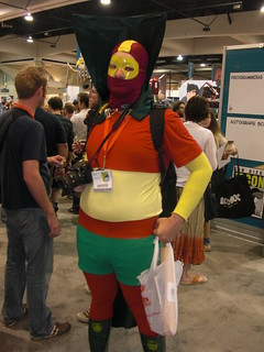 SDCC, San Diego Comic Con, Red Tornado