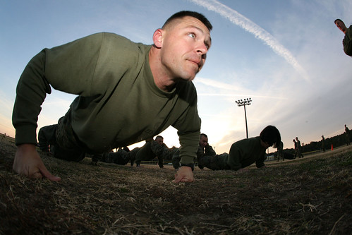 Security Cooperation Group Marines strengthen their combat fitness [Image 1 of 2]