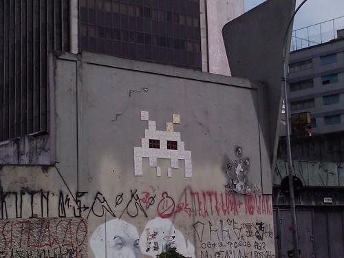 Invader em Sao Paulo