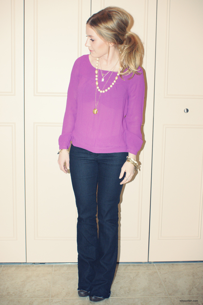 fashion-flarejeanspurpleblouse-kittycotten2