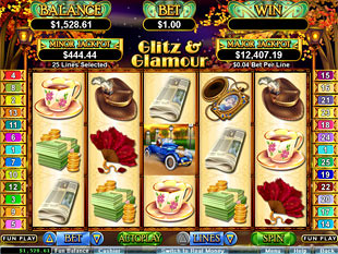 Glitz and Glamour Slot Machine