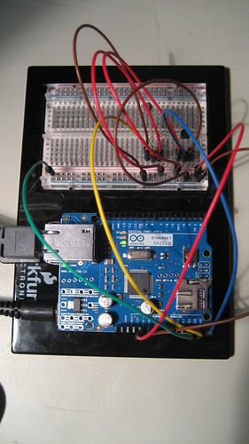 Arduino + Ethernet Shield: Remote Sensing