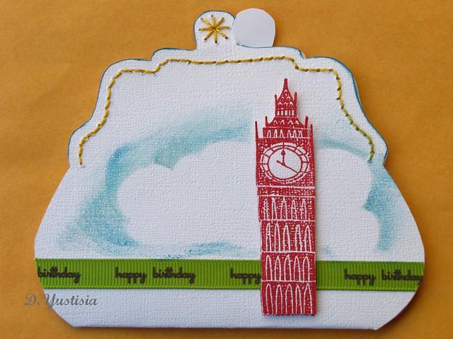 London Birthday Purse Card
