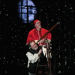 Jay O. Sanders as Galileo and Edward Herrmann as Pope Urban VIII in the Huntington Theatre Company's American Premiere production of Two Men of Florence at the BU Theatre, part of the 2008-2009 season. Photo: T. Charles Erickson