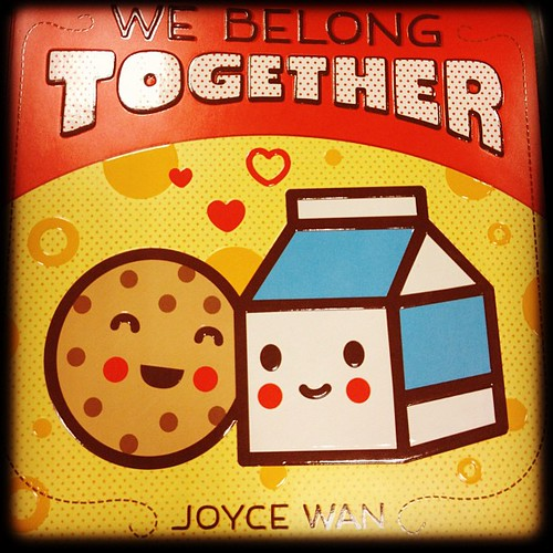 Kissing Cookie #love #valentine #happy #jj #books #sweet #all_shots #instagood #janphotoaday #instagram #milk #eats