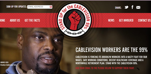 Cablevision Workers Website