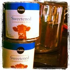 Making caramel. Mmmmm.