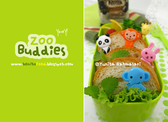 Zoo Buddies Bento 2