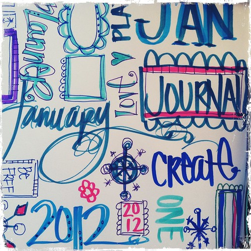 january graffiti masterboard