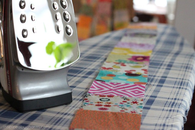 A Quilt {IBC} ironing