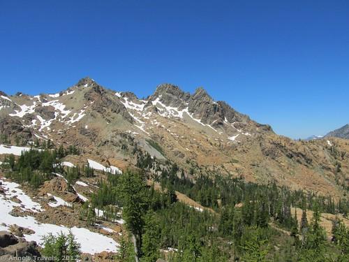 Mt. Ingalls, Ingalls Pass, Okanogan-Wenatchee National Forest, Teanaway Area, Washington