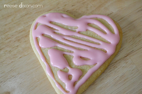 Sugar Cookie Valentines Tutorial Step 3