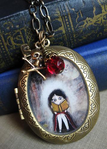 Antique Locket - A Grand Adventure