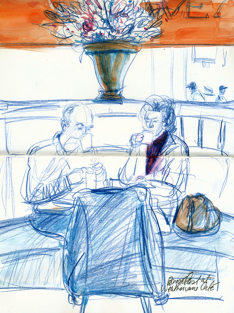 Coffee couple, Weathervane Café