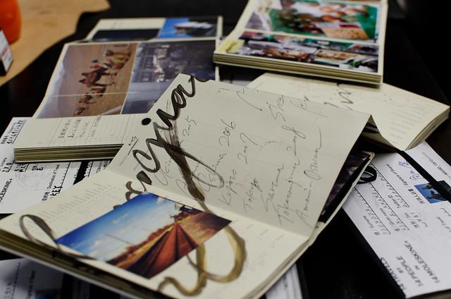旅屋で開催中、「旅する写真展α」に行って来ました(31日まで!)