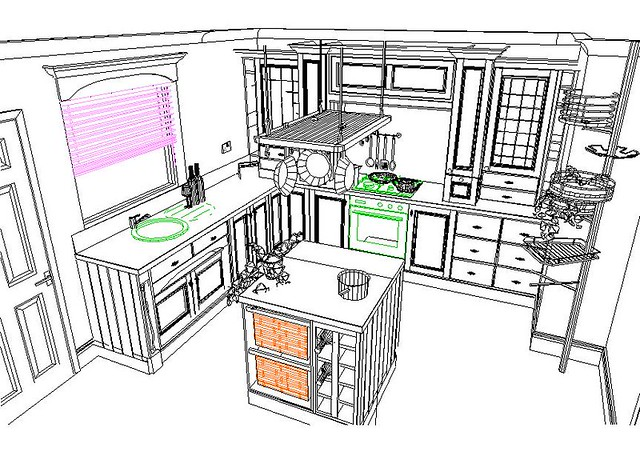Kitchen Cabinets Dwg Files