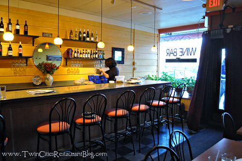 Wine Bar at Kafe 421 ~ Minneapolis, MN