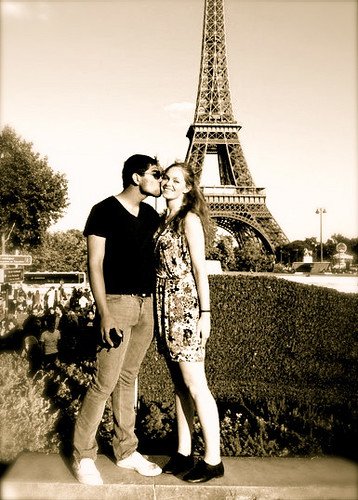 """""""Paris is the city of love, even for the birds."""" by Sarah Delaney Bush"""