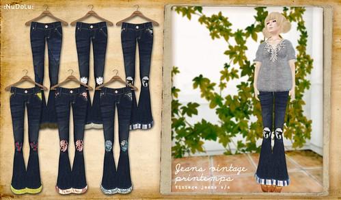 NuDoLu Jeans vintage 2012 AD