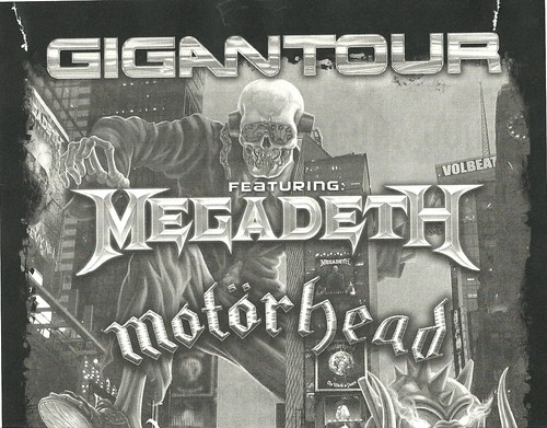 02/14/12 Megadeth/Motorhead/Volbeat/Lacuna Coil @ Myth, Maplewood, MN (Top)