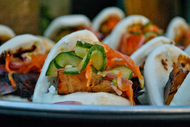 Spicy Korean Pork Belly Happy Buns
