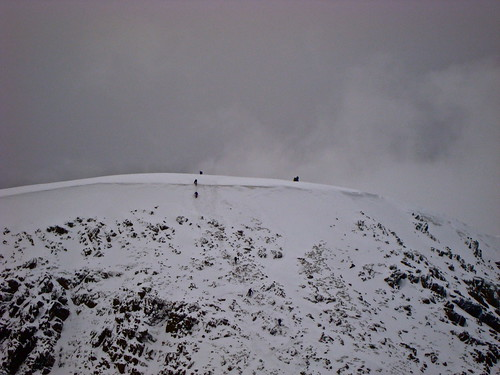 striding edge exit/entry