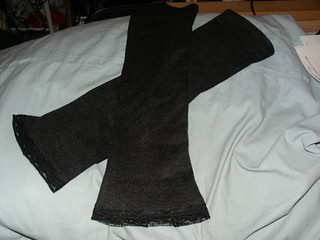 First Sewing Project: Armwarmers