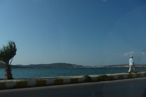 Burhaniye day 2 (Ayvalik): sea on drive back (8)