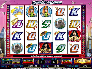 Wonder Woman slot game online review