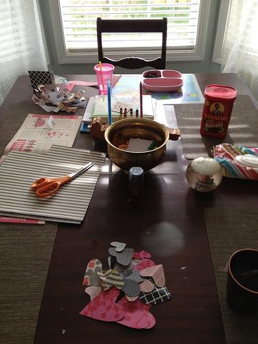 kitchen craft table