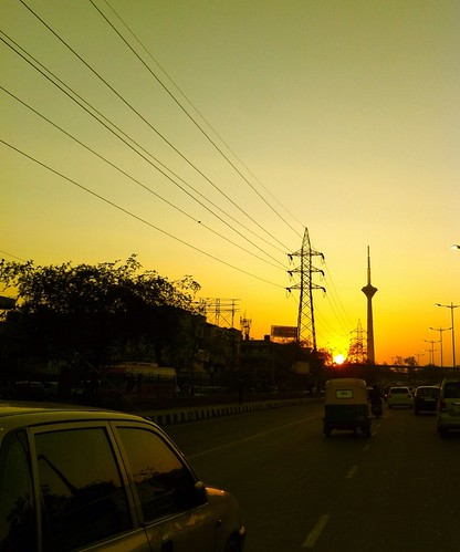 road sunset sky streets sunrise highway delhi 365 iphone project365 365days iphoneography